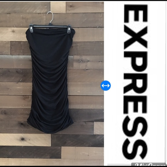 Express Dresses & Skirts - NWT Strapless LBD from Express size Med-Juniors